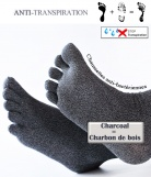 Chaussettes Antibact�riennes � Doigts
