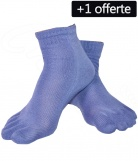 1 paire Chaussettes Doigts Homme + 1 offerte
