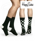 2 paires Chaussettes Pois Happy Socks