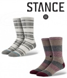 2 paires Chaussettes homme Stance The Boss et Helen