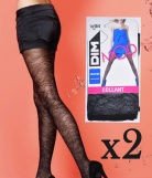2 Collants MOD de DIM nuage
