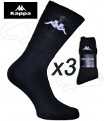 3 paires chaussettes sport Kappa