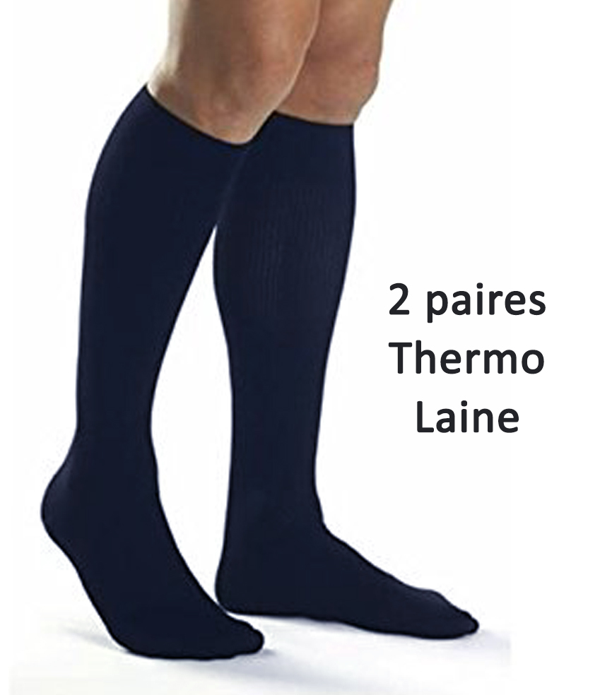 0816ace4827 chaussettes haute en laine thermo homme. Chargement · long socks wool for  men