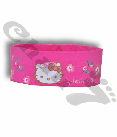 Bandeau Hello Kitty rose pour filles