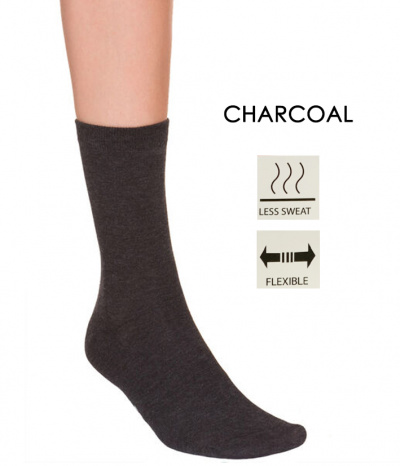 chaussette charcoal antibacterienne