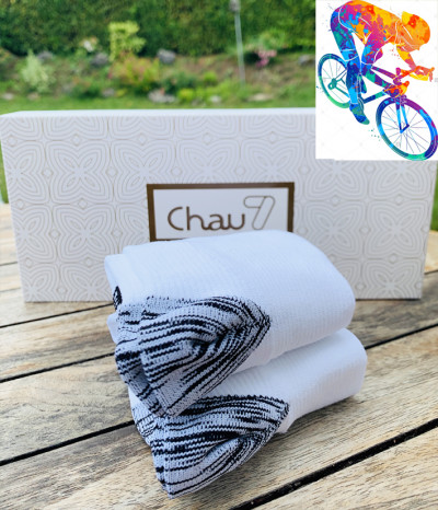chaussettes homme bike velo course
