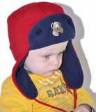 Chapka bonnet Reversible Ourson Polaire