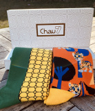 Chaussettes Collection Tigre 2 paires