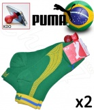 2 paires Chaussettes Puma Coupe Europe