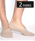 2 paires protege-pied invisible - Homme