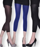 Legging opaque résistant coloré