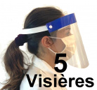 Visieres protection Lot de 5 ou 10