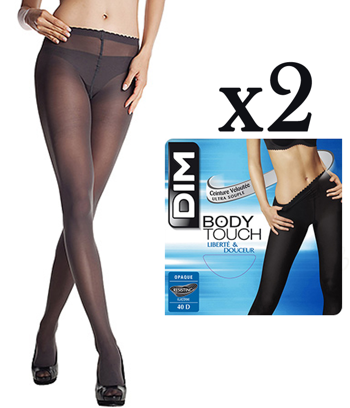 2 Collants DIM Body Touch Opaque. Chargement 1fc3f7ee8bc