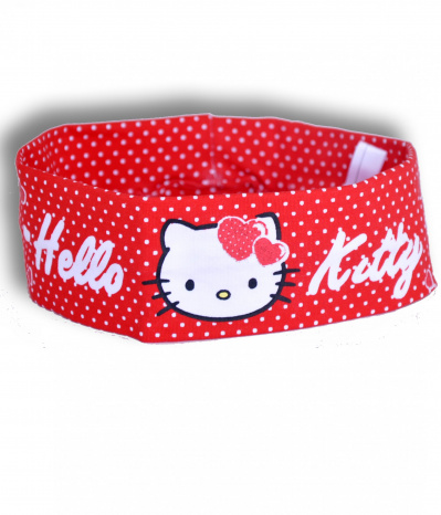 bandeau hello kitty rouge