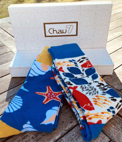 chaussette collection ocean