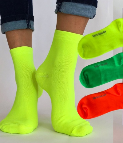 chaussettes fluo top qualite