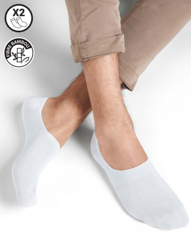 chaussettes invisible ultra courte blanche