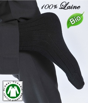 chaussettes laine homme 100% merinos