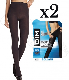 collant DIM body touch ultra opaque