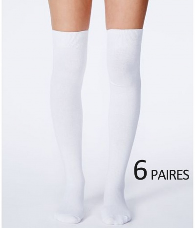 jambieres blanc femme