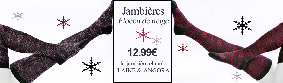 jambiere flocon