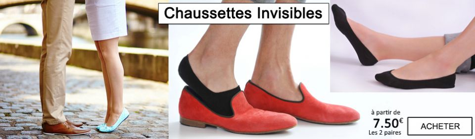chaussette invisibles